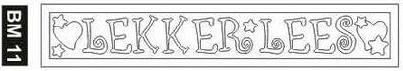 BM11 BOOKMARK - SAND ART