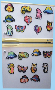 FP - SandArt Fridge Magnets