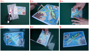 SandArt_HOW TO LAMINATE SANDART CARD