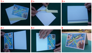 SandArt_HOW TO MAKE GREETING CARD
